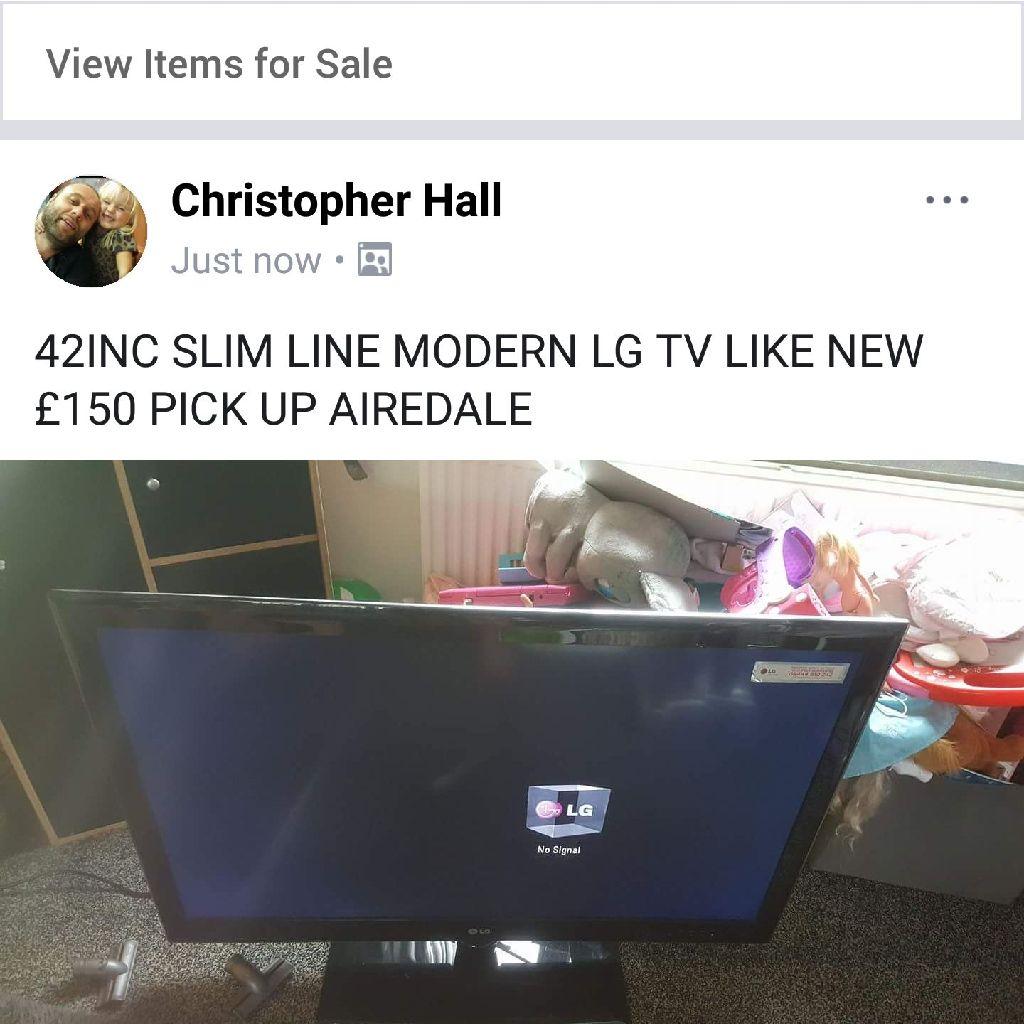 42 inch smart tv
