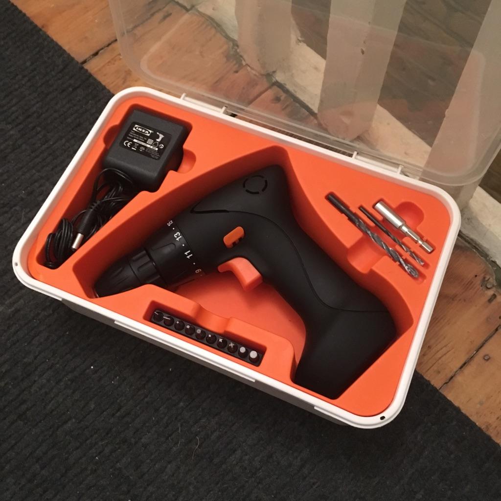 Screwdriver/Drill Fixa Ikea New