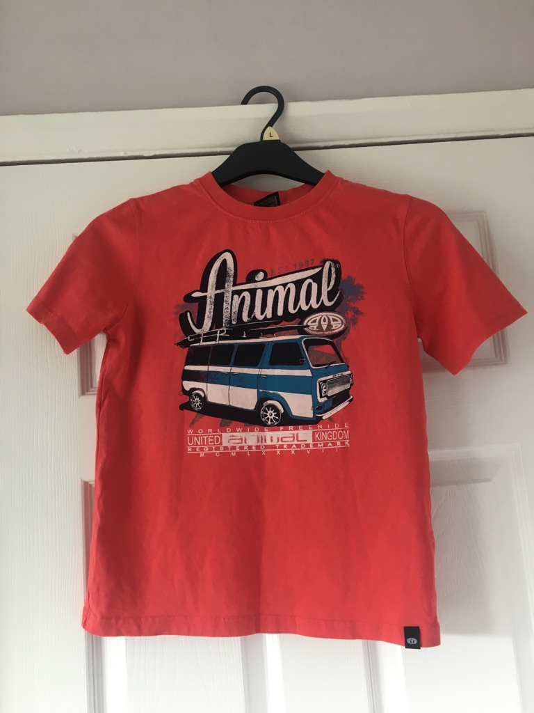 Boy's Animal Tee & Ted Baker Blue Polo £10 Each both for £15