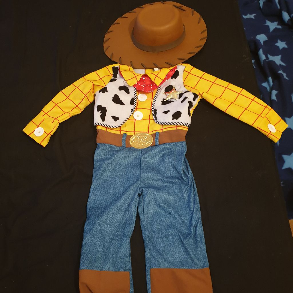 Brand new woody outfit