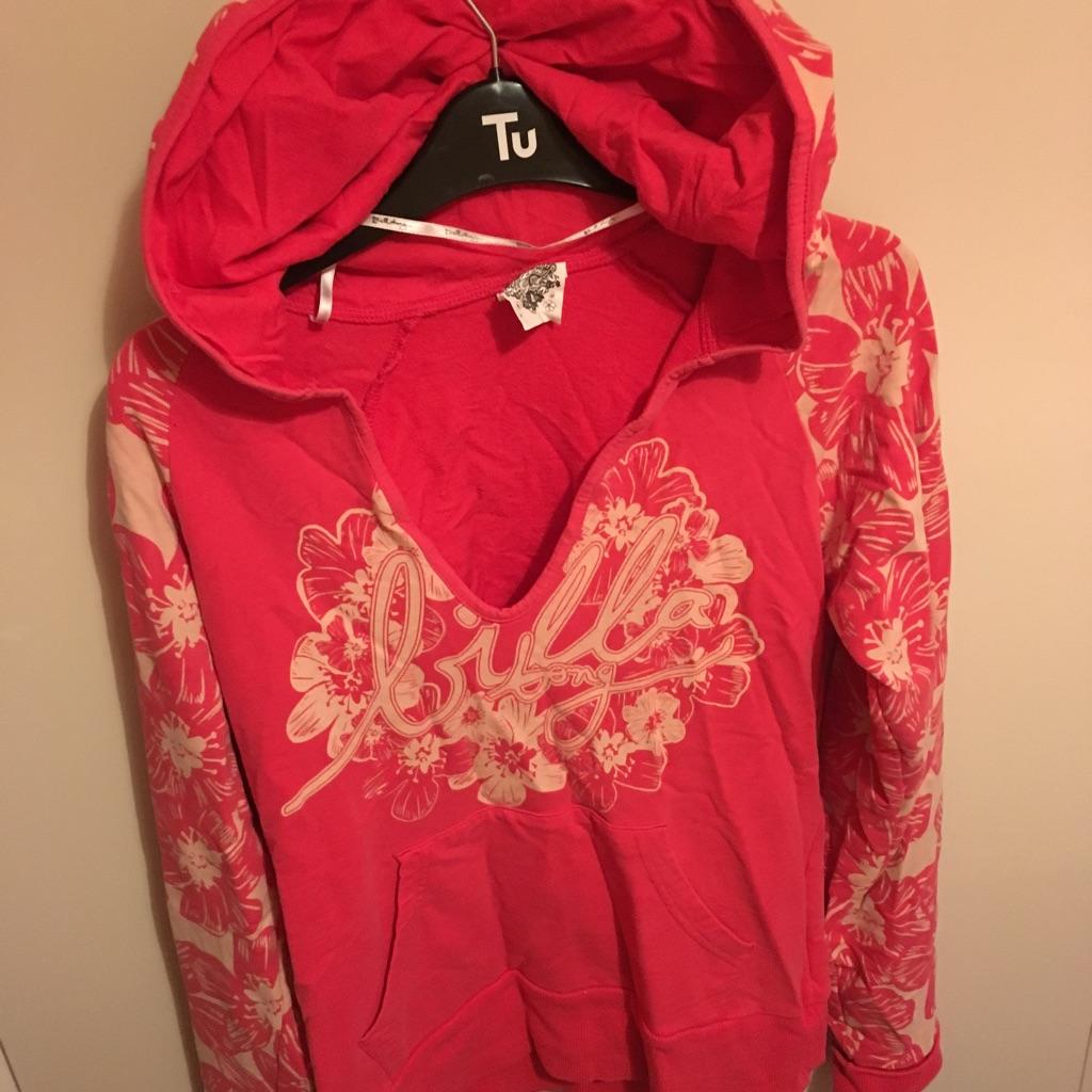 Billabong hoodie size 10-12