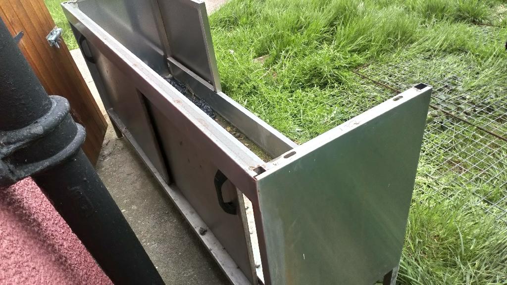 Ex-Hospital steel cabinets