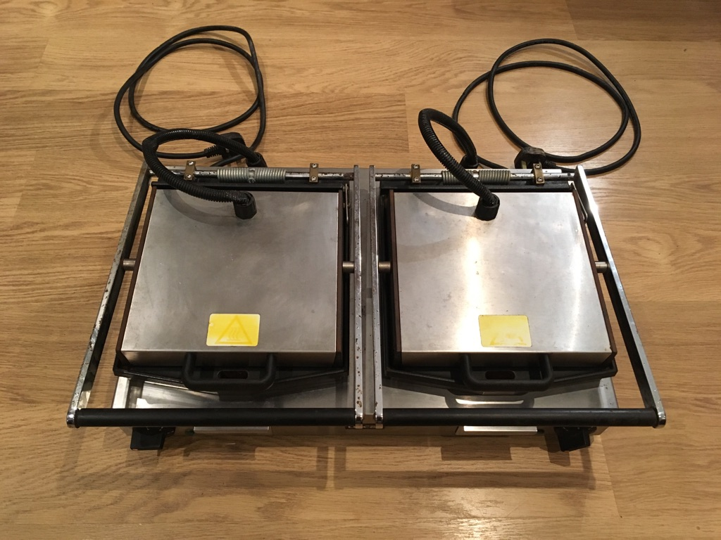 Lincat Double Panini Machine/Contact Grill