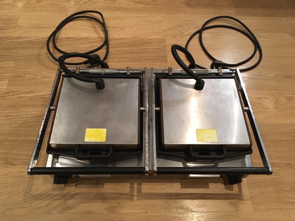 Lincat Double Panini Machine/Contact Grill