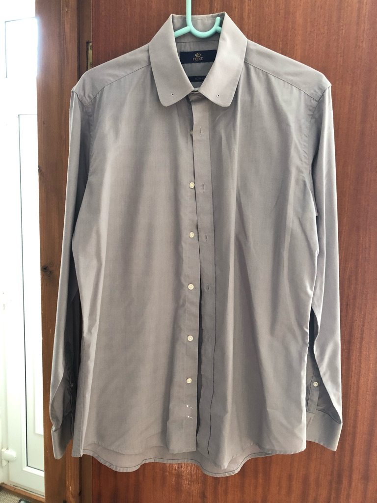 Men's next grey shirt