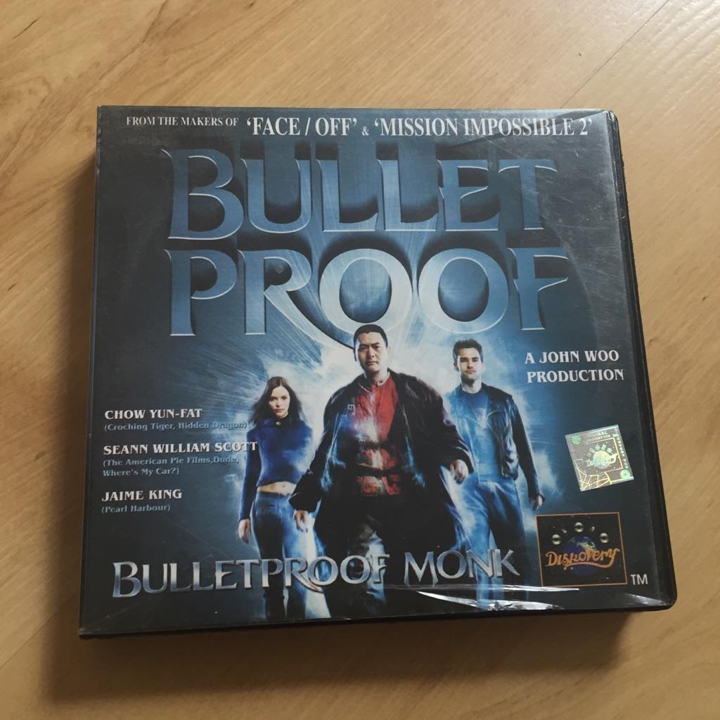 Bulletproof Monk VCD