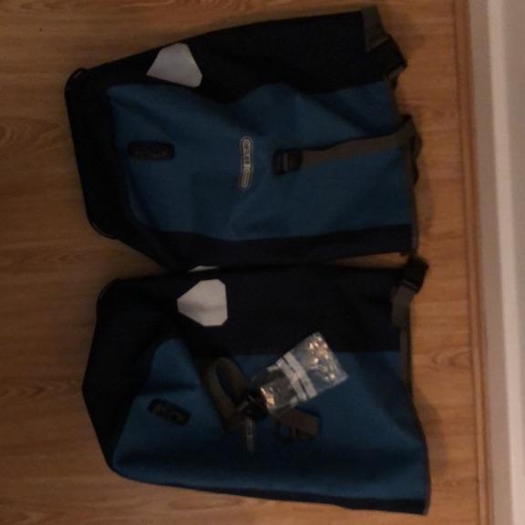 Ortlieb rear pannier pair