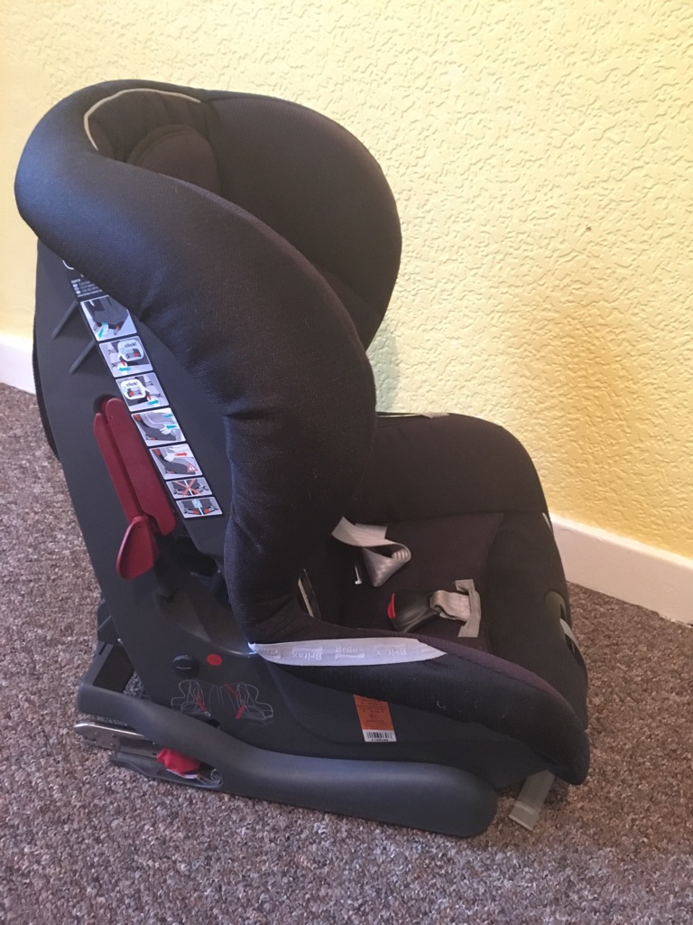 Brittax isofix car seat (with insert)