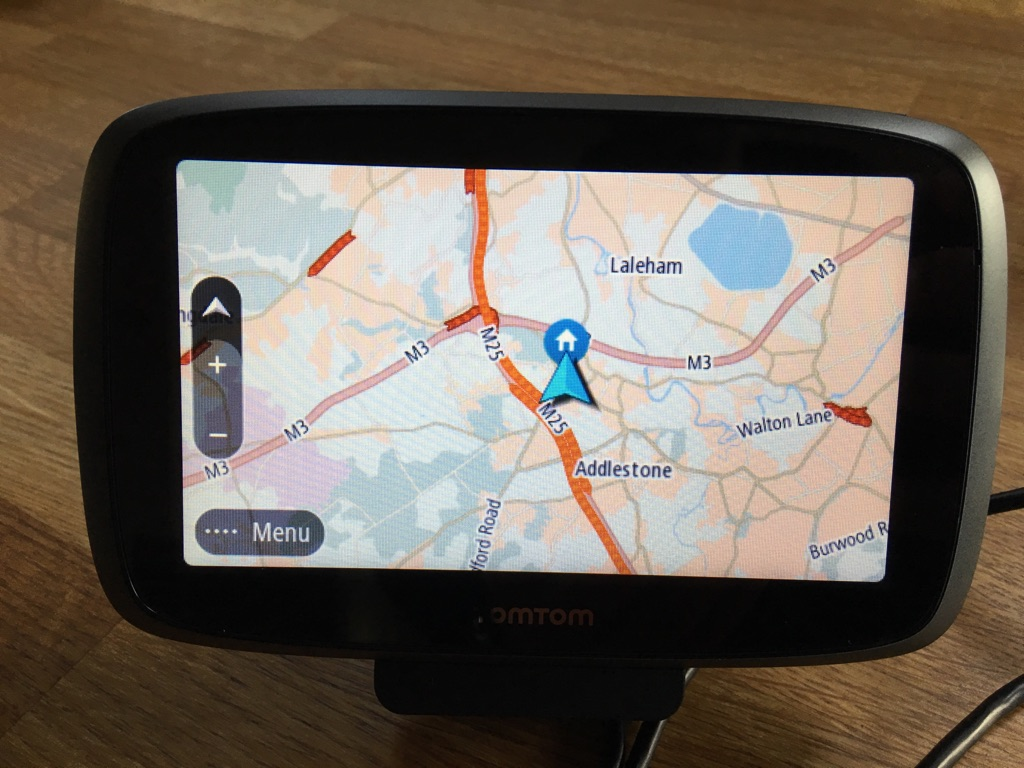 Tomtom 5000 with lifetime traffic and maps with all original accessories.