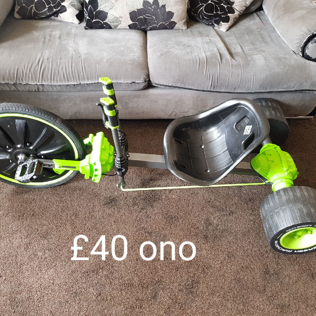 Green machine for sale only used a handful off times and avigo bike