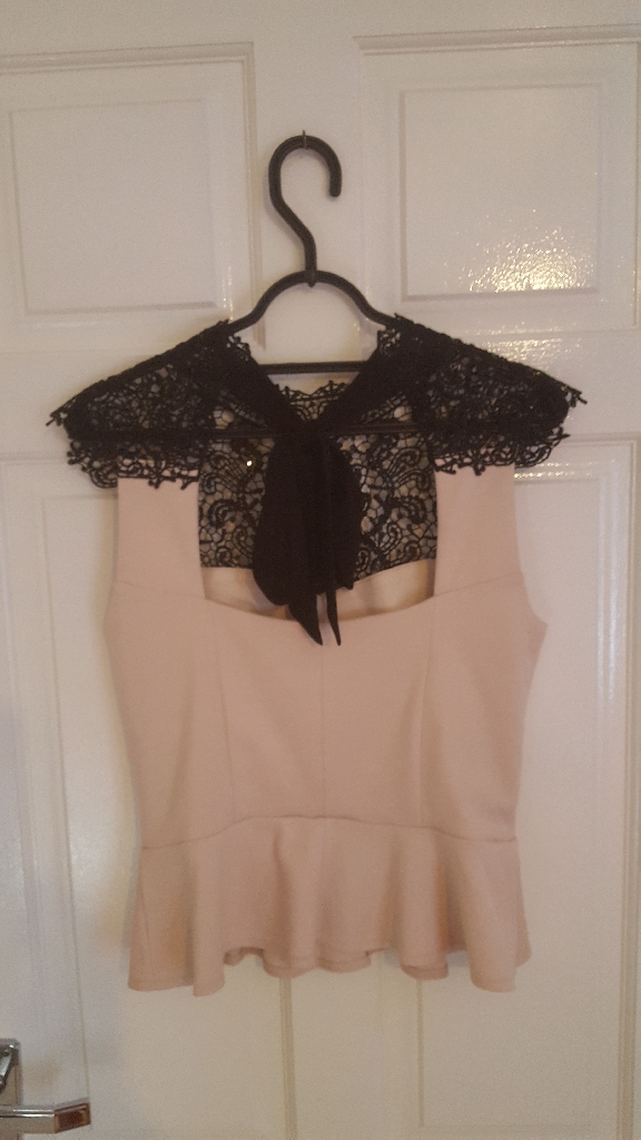 Lipsy top, size 10