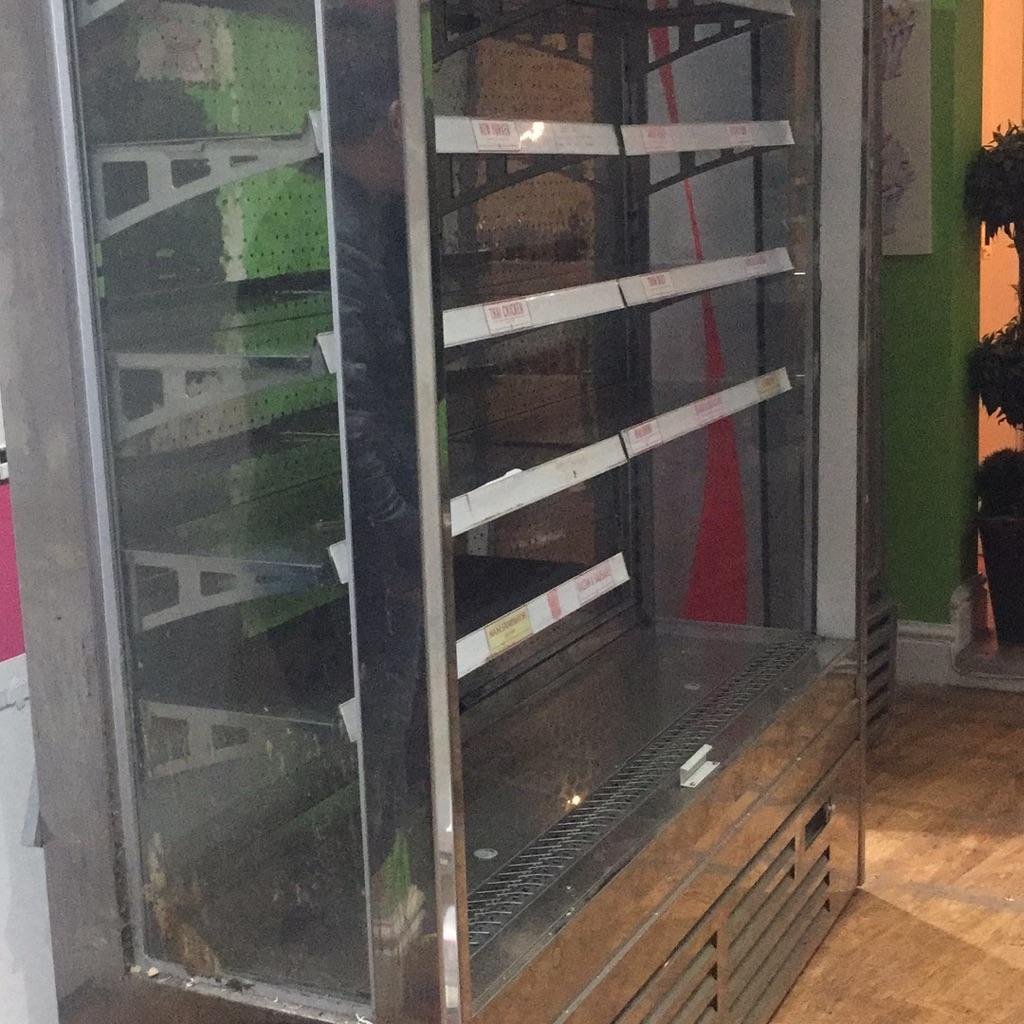 Big display fridge