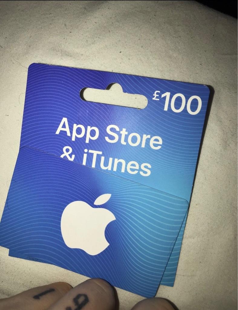 iTunes £100 voucher