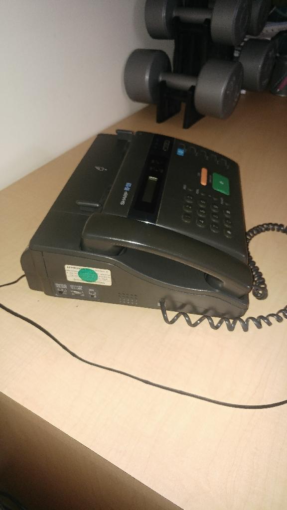 Phone fax machine