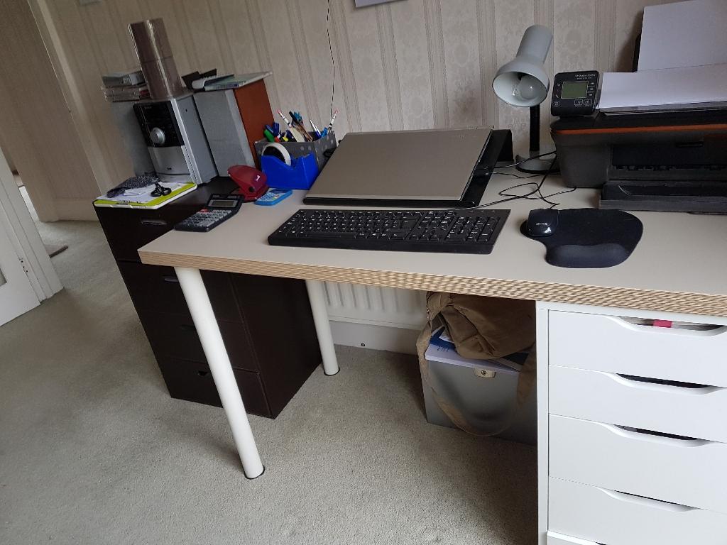 IKEA desk & office chair