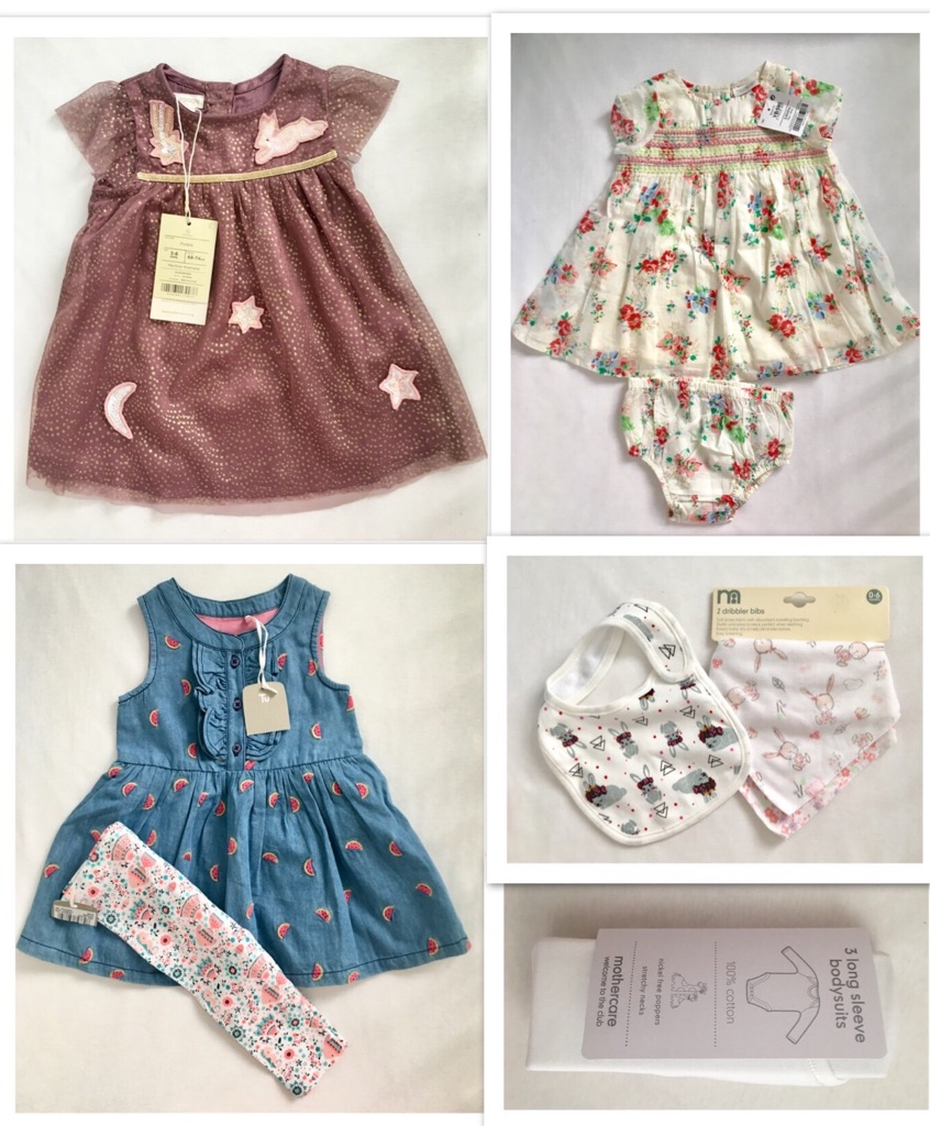 3-6 months bundle new clothes