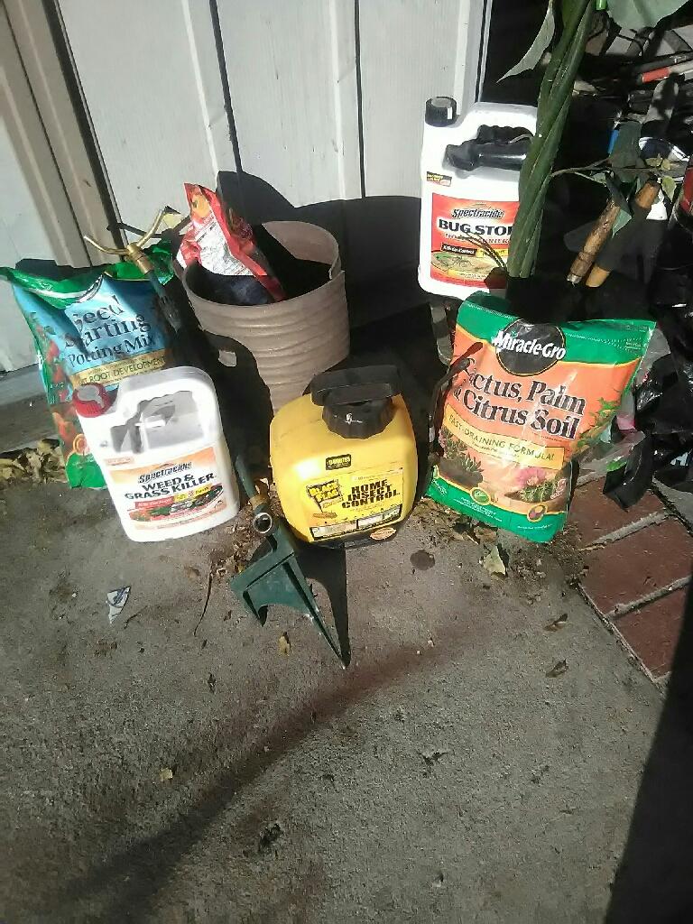 Half off if you buy gardening tools