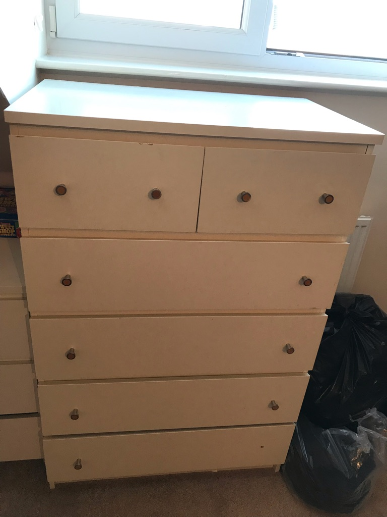 3 chest of drawers for sale
