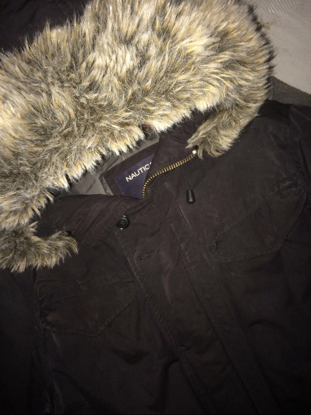 Nautica Fur Hooded Jacket