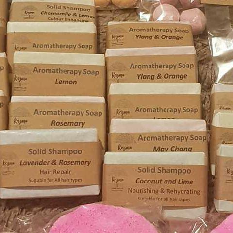 Aromatherapy body bars shampoo bars