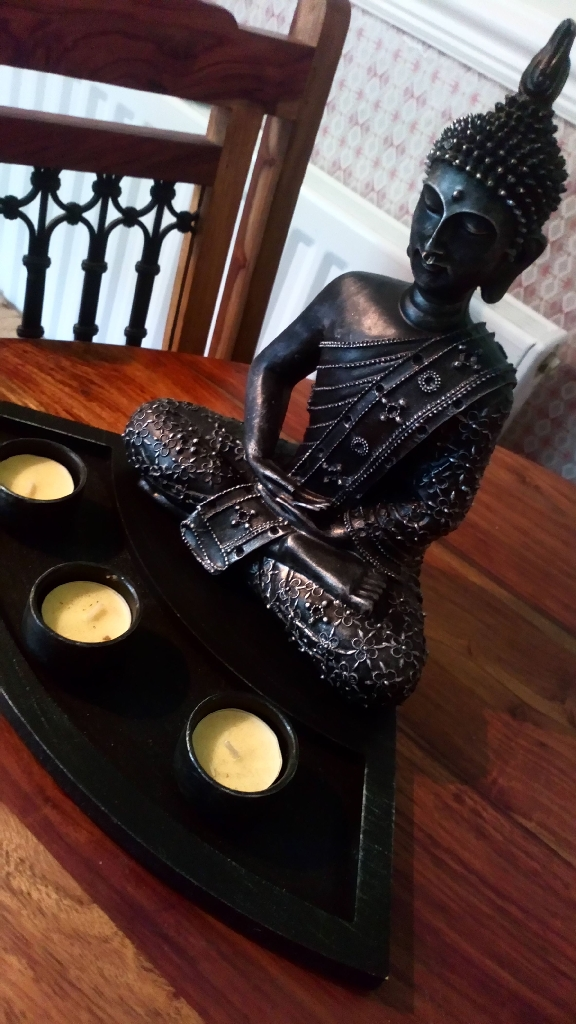 Buddah with Candle's