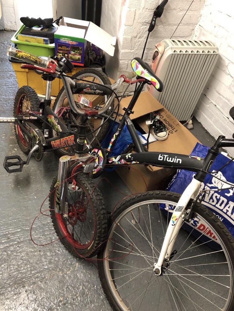 Child and Teen bikes