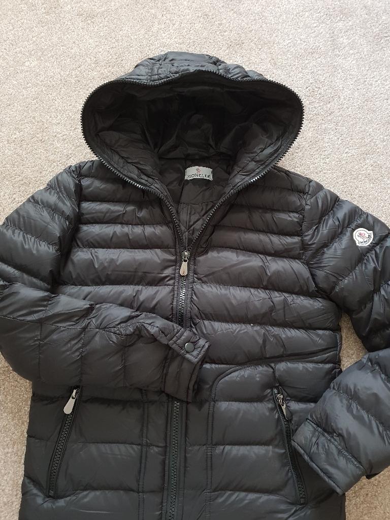 Moncler coat, small mens