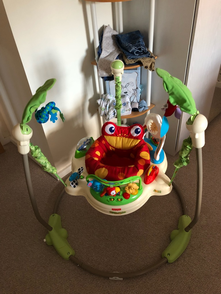 Fisher Price - K6070 Rainforest Jumperoo