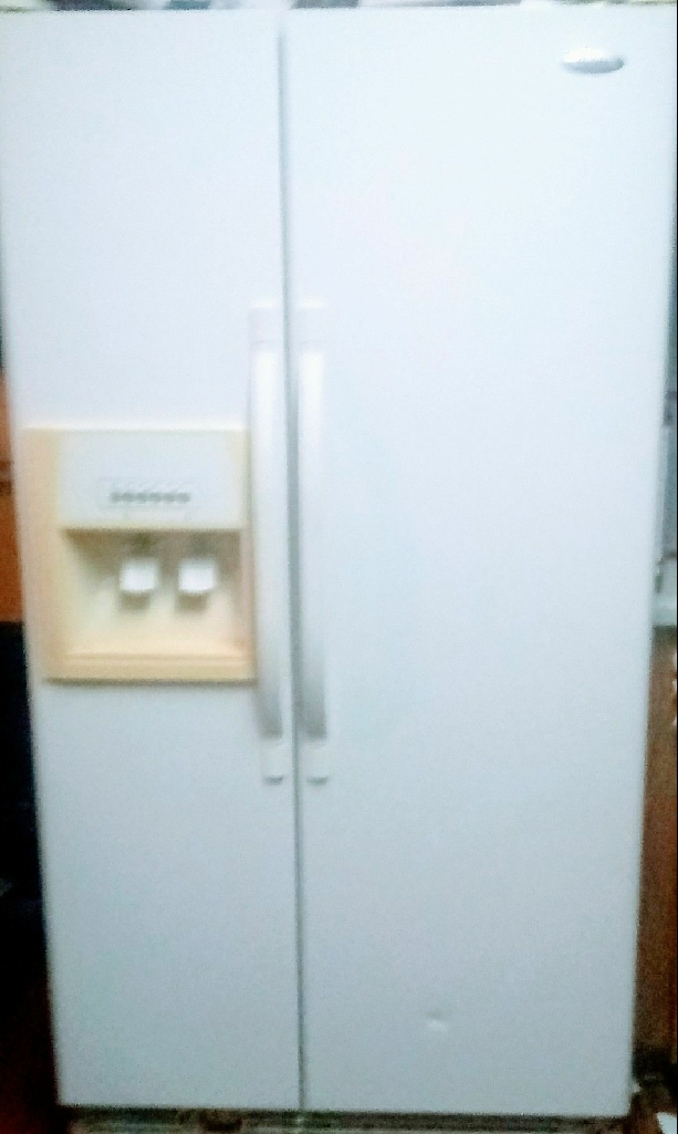 Whirlpool fridge side by side