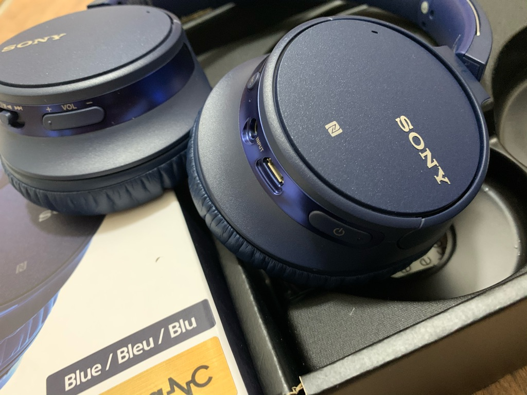 SONY WIRELESS NOISE CANCELLING STEREO HEADSET WH-CH700N - Like New
