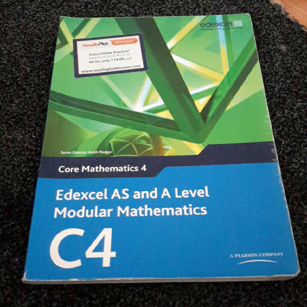 Edexcel C4 A Level Maths Book