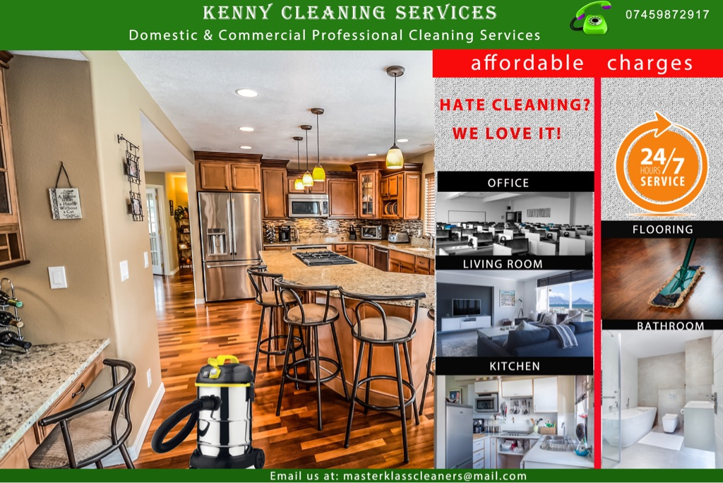 Domestic & Commercial Proffesional Cleaning Services