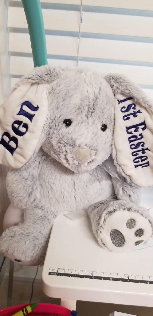 Easter bunnies n baskets