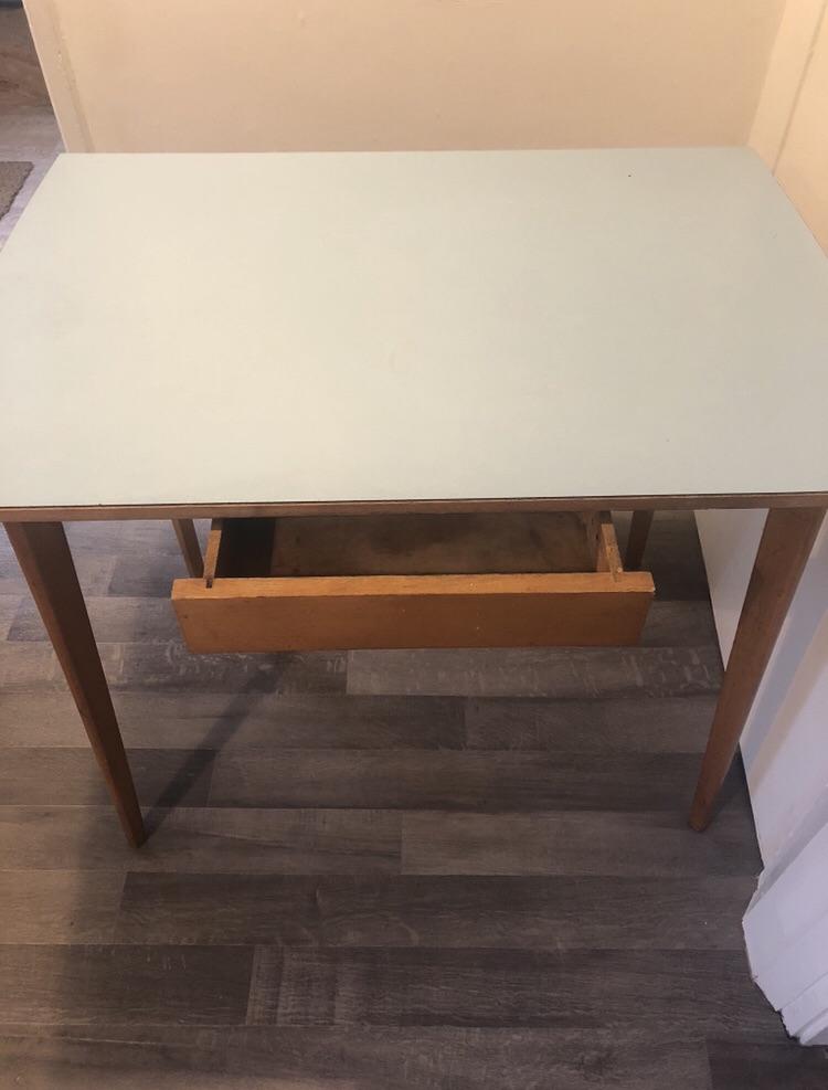 Vintage mid century Table Desk Dresser