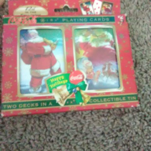 Coca cola Christmas collection cards