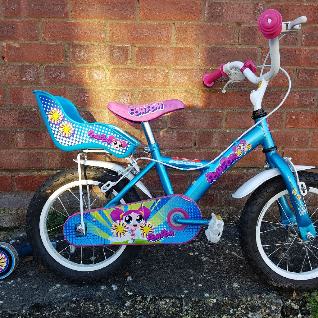 4-5 year old girl's bike
