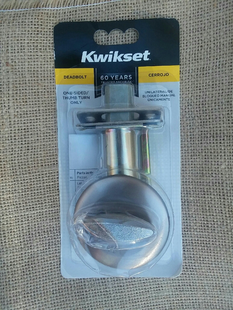 Brand New Deadbolt