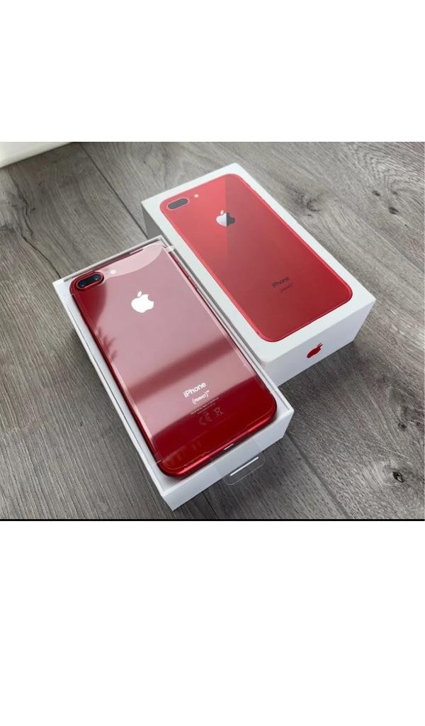 iPhone 8 plus 256gb red unlocked