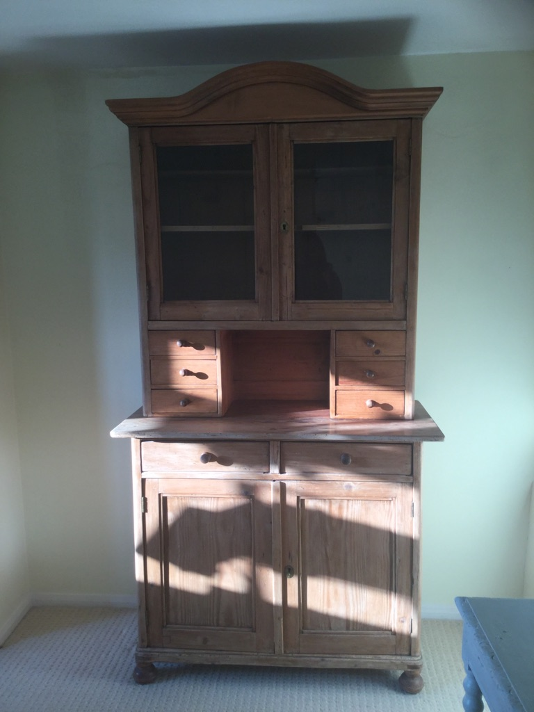 REDUCED! Antique Pine Swedish (?) Dresser