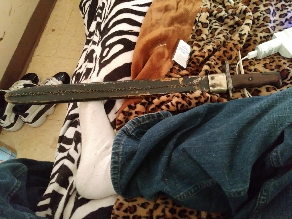 Springfield 1918 bayonet