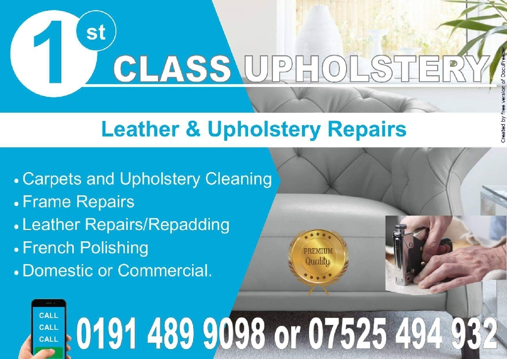 Cleaning/upholstery services