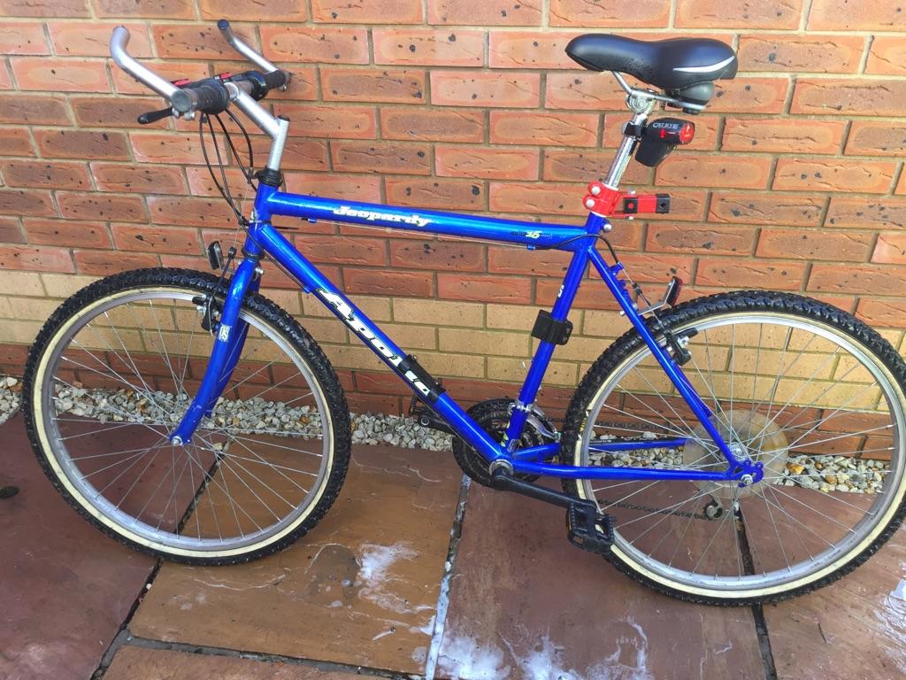 "Men's apologies bike 26""wheels"