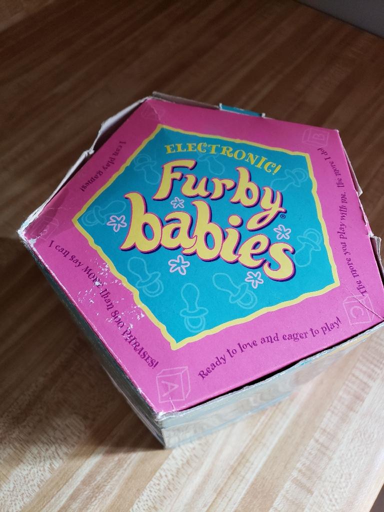 1998 vintage furby baby.