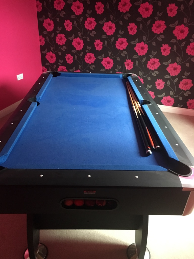 Pool table - must collect