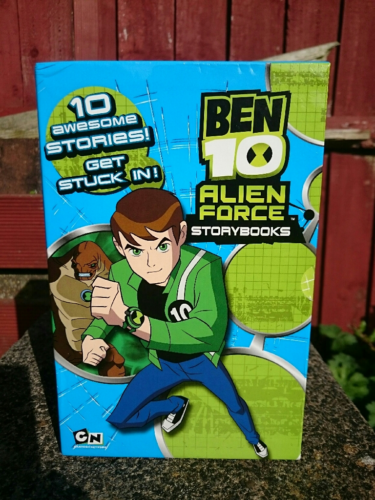 Ben 10 Alien Force Storybooks - Box Set of 10 Stories
