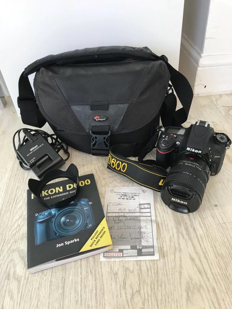 Nikon D600 & Nikon 24-120 G lens