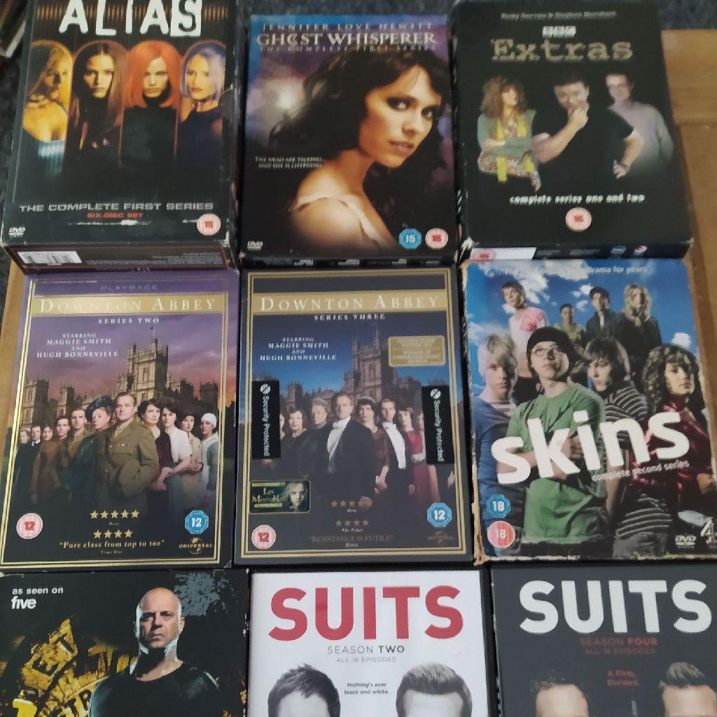 Bundle of box sets, 10 seasons on 9 DVD boxset