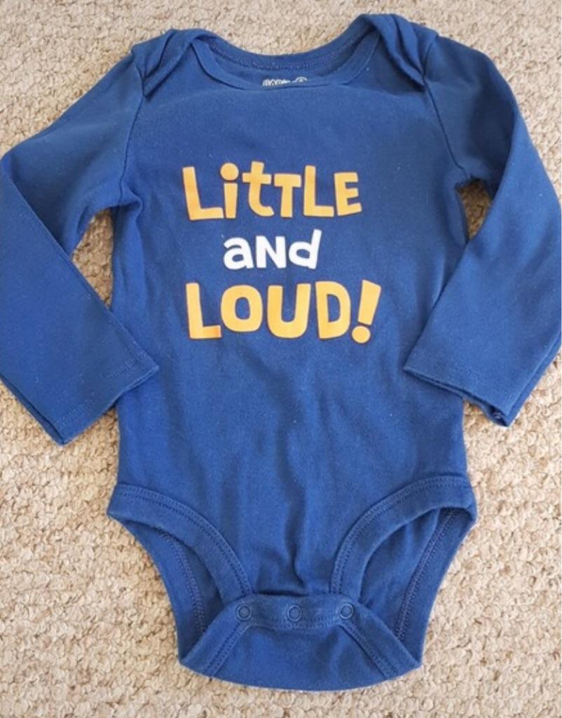 BabiesRUs long sleeved bodysuit 6-9 months