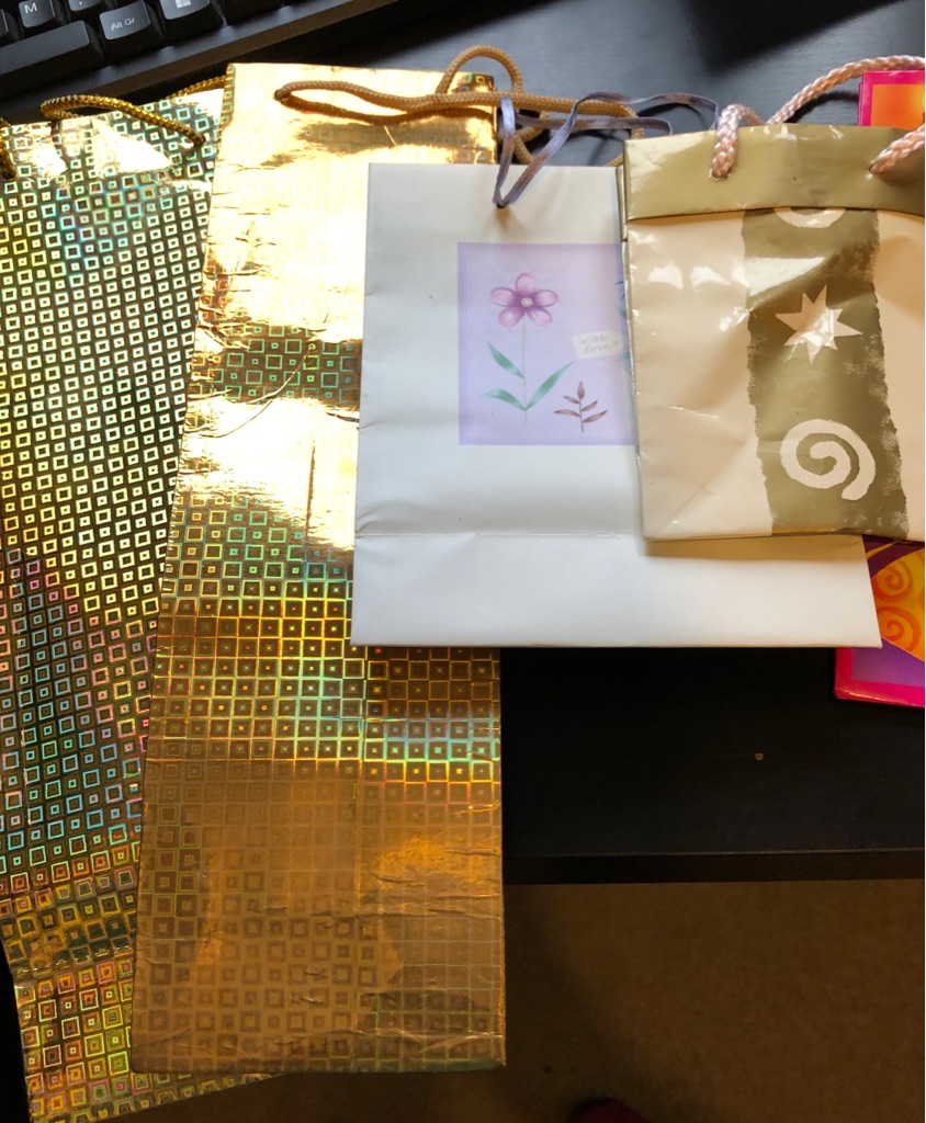 SET OF 14 ASSORTED GIFT BAGS