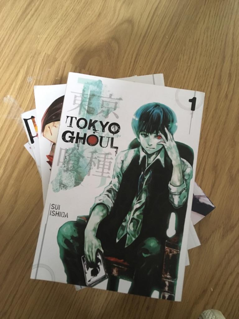 Tokyo Ghoul Manga Vol1-5